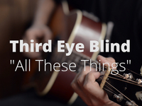 Third Eye Blind - All These Things