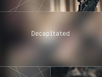 Decapitated - The Blasphemous Psalm To The Dummy God Creation (Last.fm Lightship95 Series)