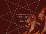 Lastfm100Billion - Top 10 Loved Metal Tracks Of All Time