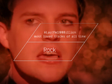 Lastfm100Billion - Top 10 Loved Rock Tracks Of All Time
