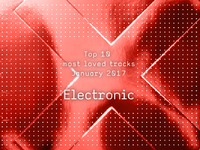 Top 10 Most Loved Electronic Tracks - January 2017