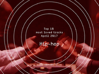 Top 10 Most Loved Hip-hop Tracks - April 2017