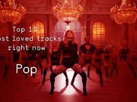 Top 10 Loved Pop Tracks