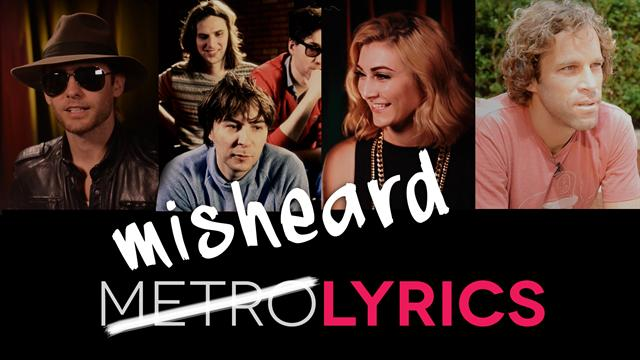 What's That Line? Misheard Lyrics From Some of Music's Biggest Artists