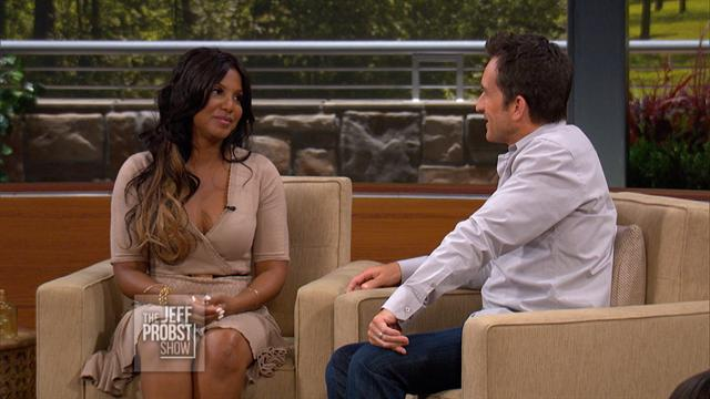 Jeff Probst: Checking In With Toni Braxton