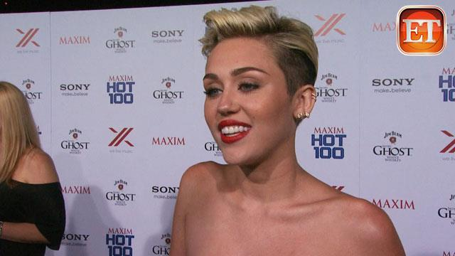 ETonline: Why Miley Thinks She Topped 'Maxim's' Hot 100
