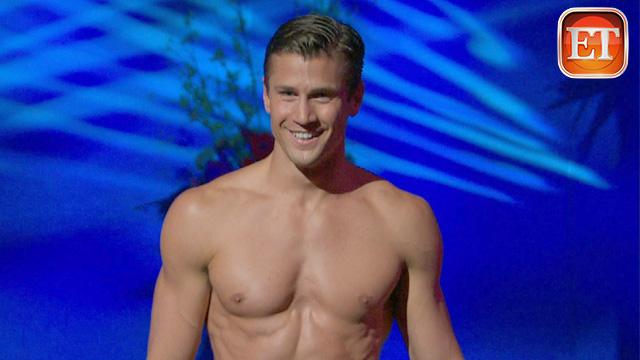 ETonline: Bachelorette's Mr. America' Comp Gets Steamy