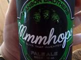 Hanson and Mustang Brewing's mmmhops Beer