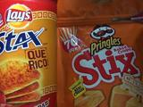 Lay's Stax Que Rico Adobadas vs. Pringles Baked Crispy Stix