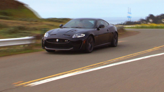 Ride angry in style with the 2012 Jaguar XKR-S