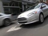 The new Ford Focus Electric car