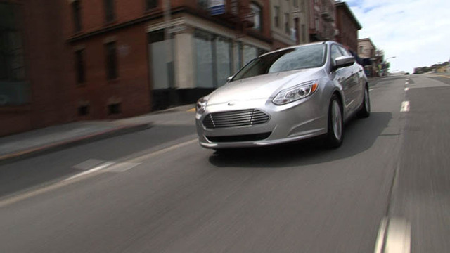 Take a ride in the 2012 Ford Focus Electric