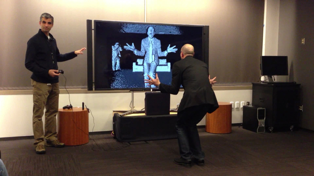 Gaming: Kinect for Xbox One in action