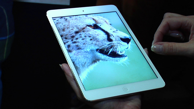 New iPad Mini features super crisp and clear Retina Display