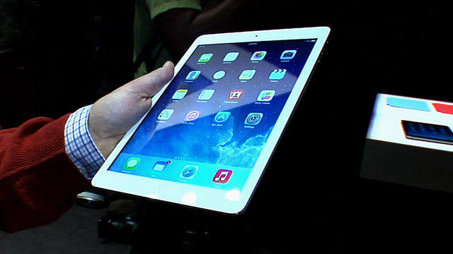 9.7-inch iPad Air is lighter, thinner, and faster