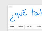 Escritura a mano en Google