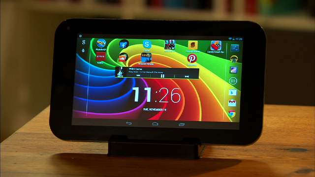 Toshiba Excite 7 tablet bores with basics