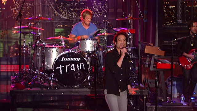 Late Show: Live on Letterman - Train