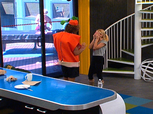 Big Brother - Feed Clip: Britney is Angry at Dan