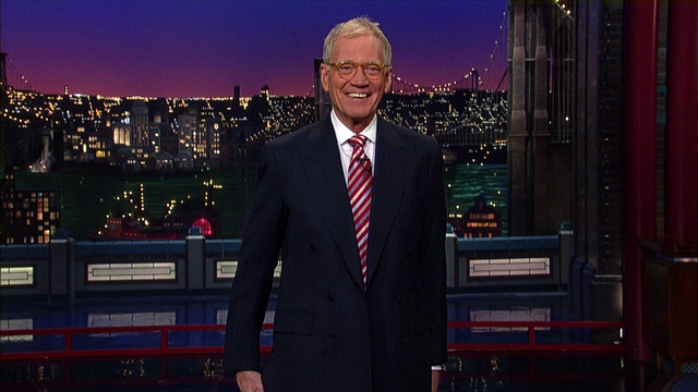 Late Show: David Letterman - Dave's Monologue - 1/4/13