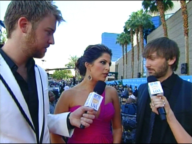 ACMA 45 - Orange Carpet Interview: Lady Antebellum