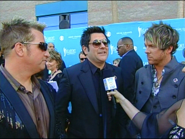 ACMA 45 - Orange Carpet Interview: Rascal Flatts