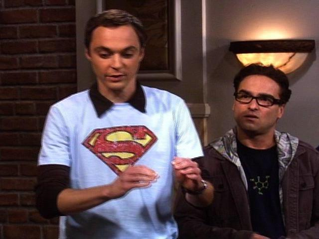 The Big Bang Theory - Superhero T-Shirts