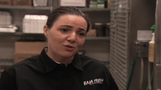 Undercover Boss - Bonus Scene: Carrie (Baja Fresh)