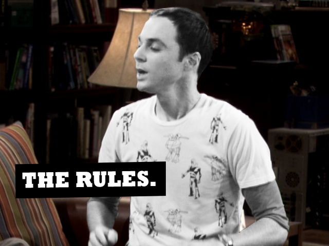 The Big Bang Theory - Rock, Paper, Scissors, Lizard, Spock