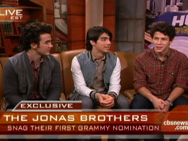 The 51st Grammy Awards - Jonas Brothers First Grammy Nod