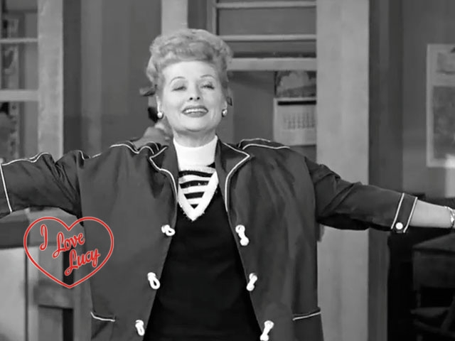 24. I Love Lucy - Lucy's Bicycle Trip