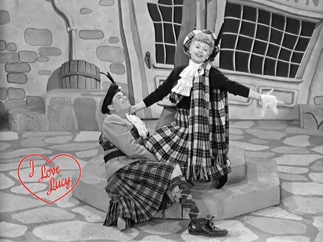 17. I Love Lucy - Lucy Goes To Scotland