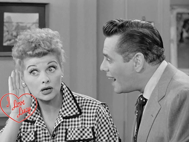I Love Lucy - Lucy's Little Small Voice