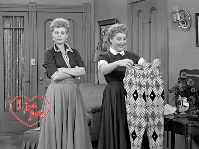I Love Lucy - Hostess Pants
