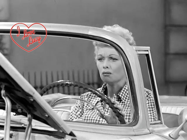 I Love Lucy - Brand New Car