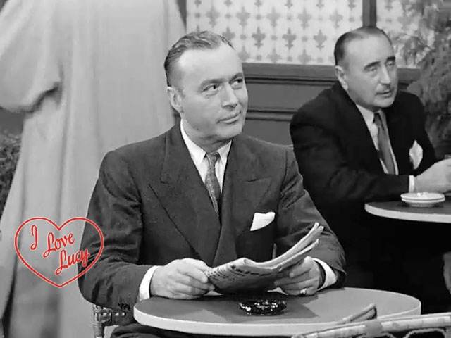 I Love Lucy - Ricky Warns Charles Boyer
