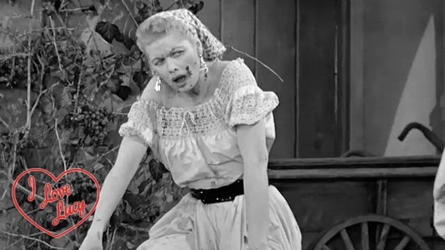 I Love Lucy - Grape Wrestling