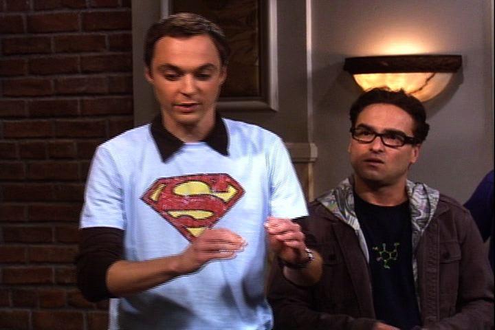 The Big Bang Theory - Superhero T-Shirts - the-big-bang-theory video
