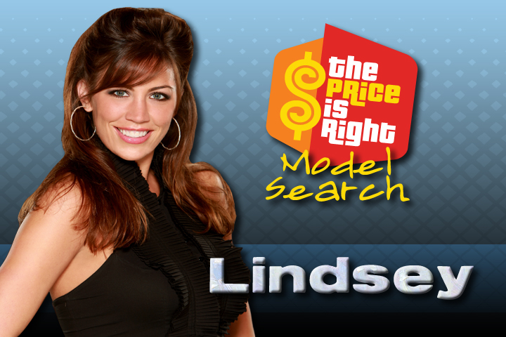 The Price Is Right - Model Search Finalist Lindsey