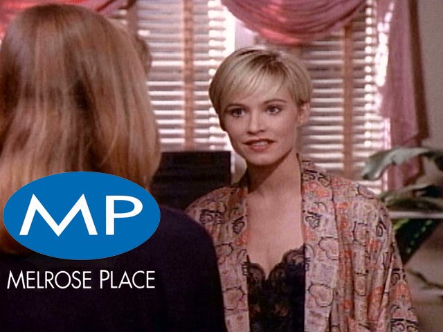 Melrose Place Original Melrose Place a Happy Family
