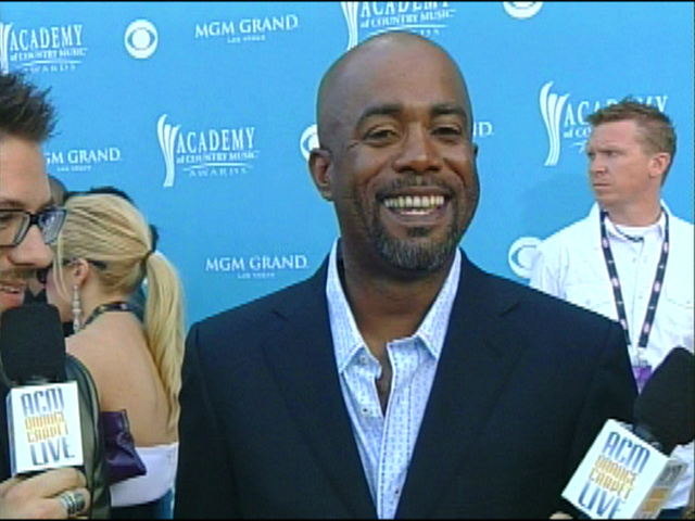 ACMA 45 - Orange Carpet Interview: Darius Rucker