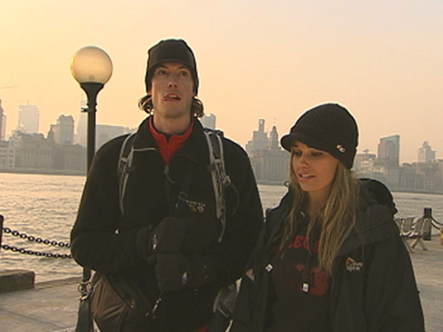 The Amazing Race 16 - Caite Holds Her Tongue