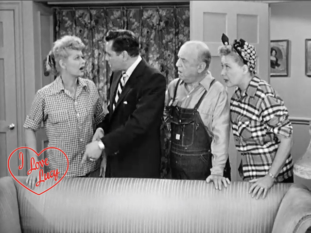 I Love Lucy - Switched and Then Switched Back