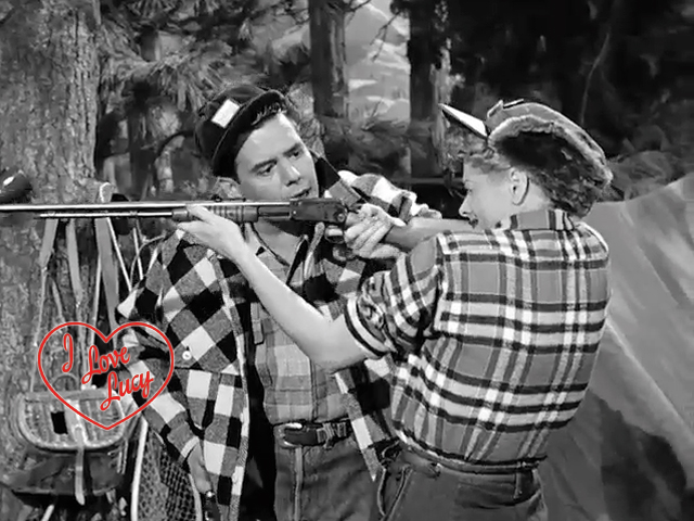 I Love Lucy - Lucy Goes Hunting