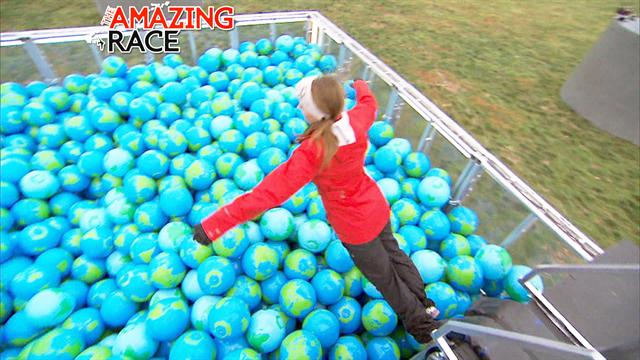 The Amazing Race - We're in a Ball Pit