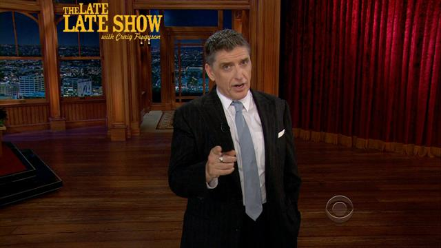 The Late Late Show: Craig Ferguson - Craig's Monologue - 5/22/2013
