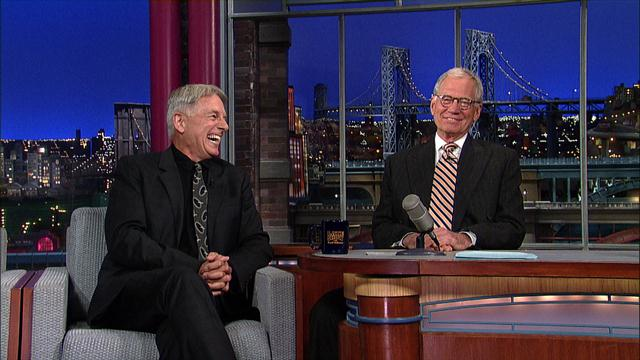 The Late Show: David Letterman - Mark Harmon Pulls A Prank