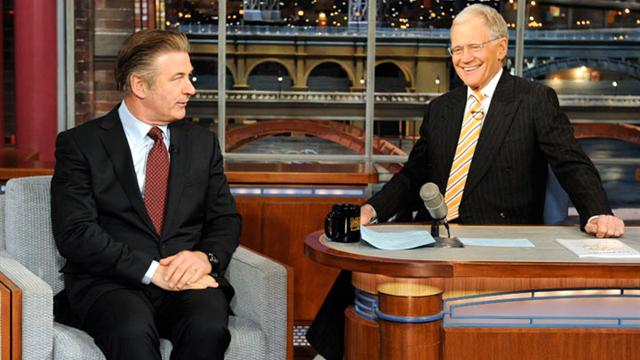 David Letterman - Alec Baldwin on the NY Post