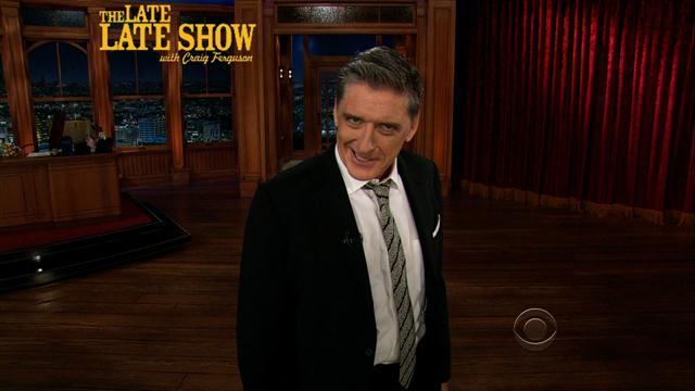 The Late Late Show: Craig Ferguson - Craig's Monologue - 6/12/2013