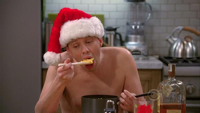 Two and a half men - Give Santa A Tail-Hole